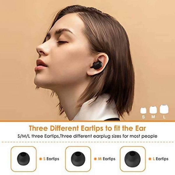 Xiaomi Mi True Wireless Earbuds Basic 2, Wireless Bluetooth 5.0 Headphones Anti-Sweat IPX4 True Stereo Bluetooth Headphones with Microphone