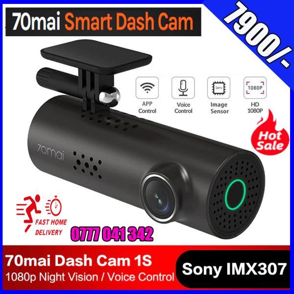 70Mai Smart Dash Cam 1S, Dash Cam Recorder Camcorder