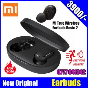 Xiaomi Mi True Wireless Earbuds Basic 2, Wireless Bluetooth 5.0 Headphones Anti-Sweat IPX4 True Stereo Bluetooth Headphones with Microphone