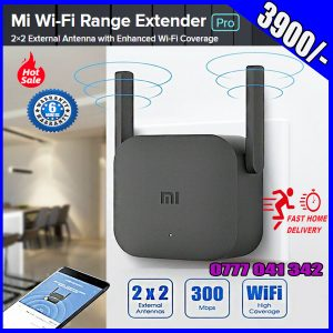 Original Xiaomi Mi WiFi Amplifier Pro 300Mbps Amplificador Repeater Signal Cover Extender Roteador Wireless Router Repetidor